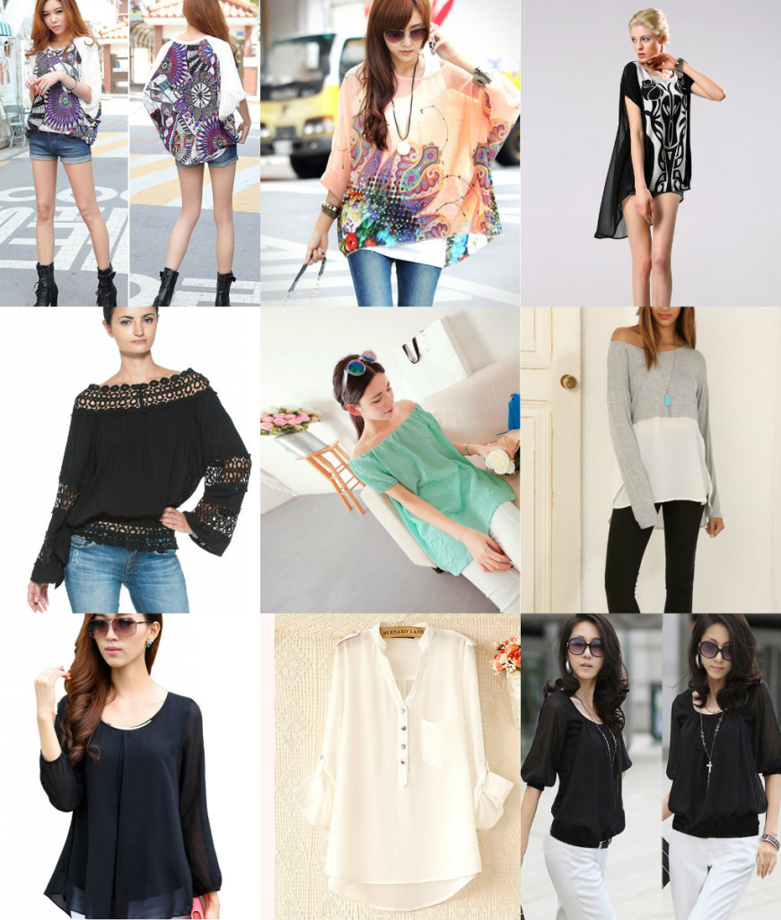 chifon blouse