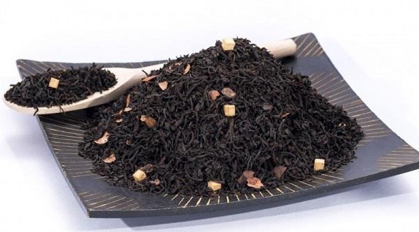 ceai negru cu gust de caramel