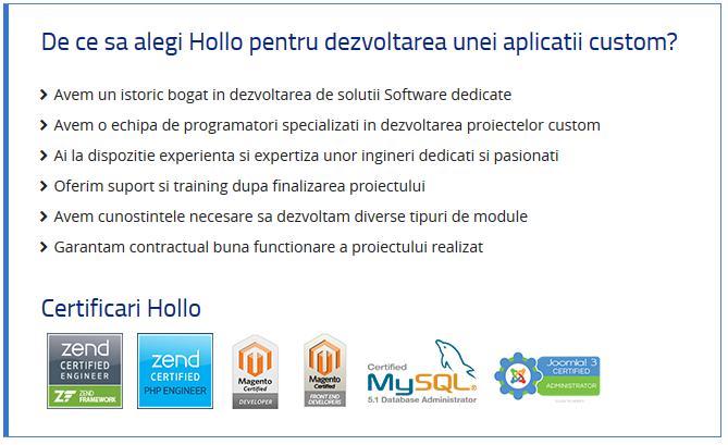 solutii software personalizate