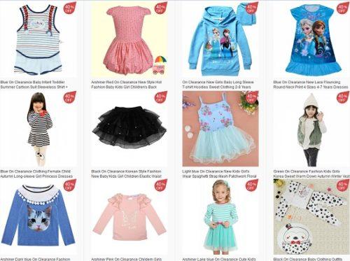 haine ieftine copii