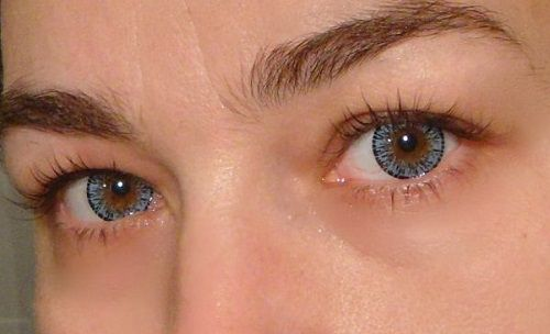 Lentile Colorate Lensa Culoarea Mult Dorita Pentru Ochii