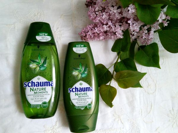 Schauma Nature Moments Mediterranean Olive Oil & Aloe Vera