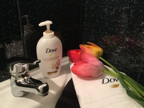 Săpun- cremă Dove cu unt de Shea și vanilie
