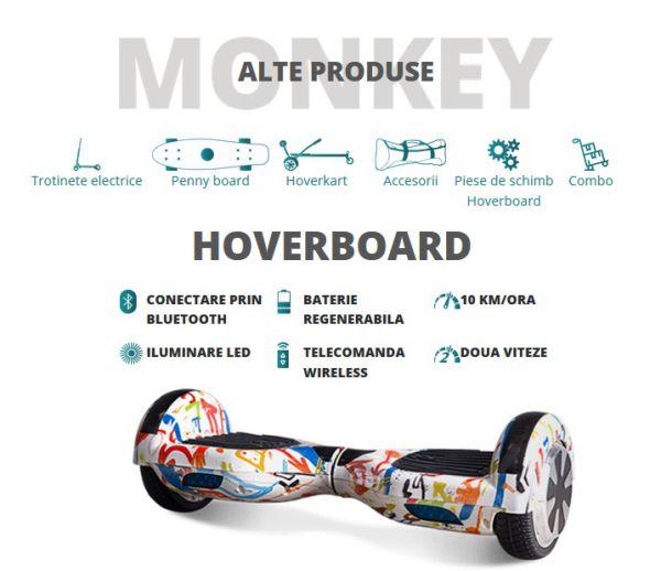 hoverboard monkey board