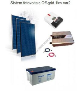 sistem fotovoltaic on grid