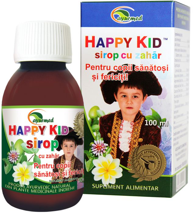 Siropul Happy Kid de la Ayurmed