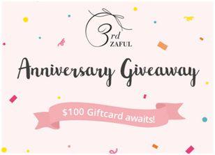 Zaful giveaway