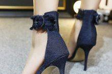 sandale stiletto elegante