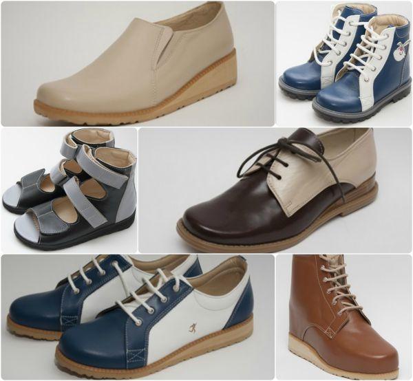 pantofi ortopedici piele