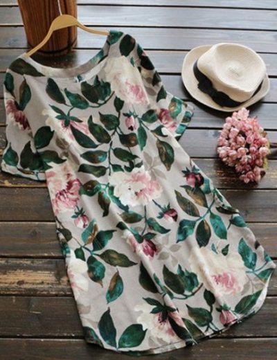 vestidos de seda estampados