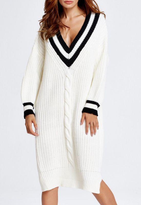 Cable Knit Cricket Midi Jumper Dress