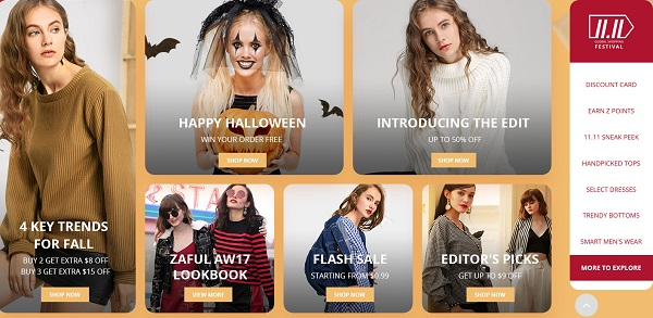 Zaful huge discount