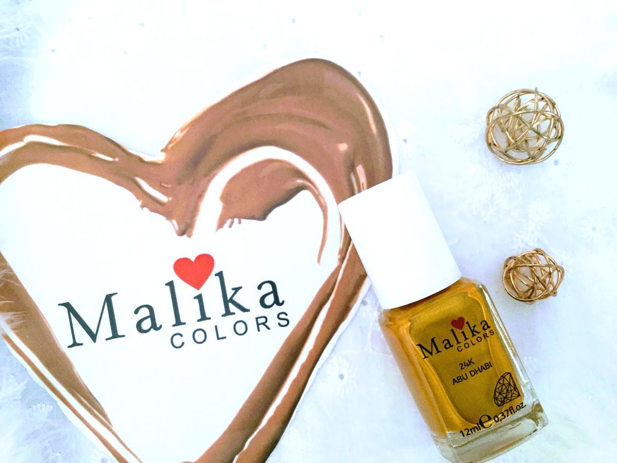LIMITED EDITION OJĂ MALIKA COLORS 12 ML, ABU DHABI 24K, COD 52B