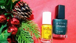 Christmas is Coming nail art
