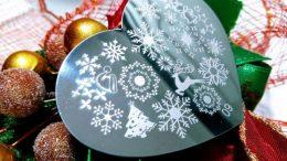 Winter Wonderland nail art