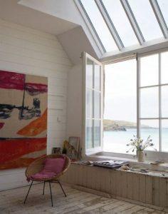 fereastra artist