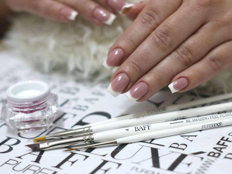 Pensule nail art