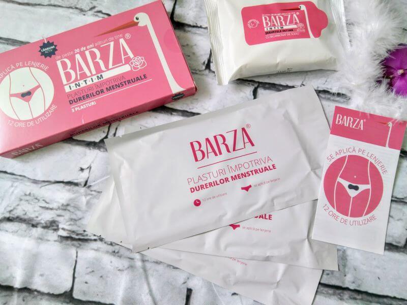 BARZA: plasturii impotriva durerilor menstruale
