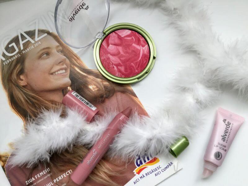 Produse makeup Alverde de la drogerie markt, review