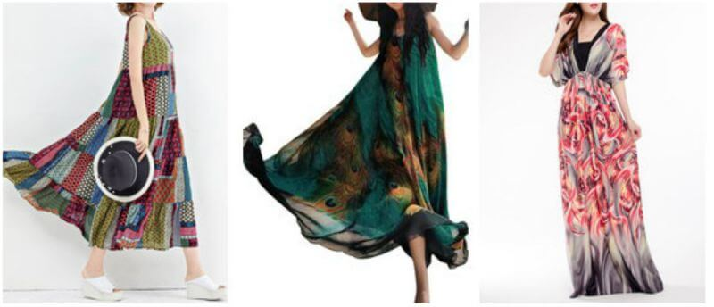 bohemian dresses