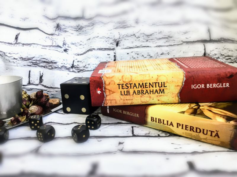 Testamentul lui Abraham si Biblia Pierduta de Igor Bergler, recenzie carte