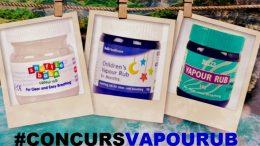 #concurs vapour rub
