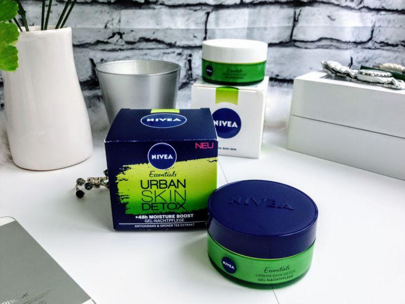 Crema de noapte NIVEA Urban Skin Detox