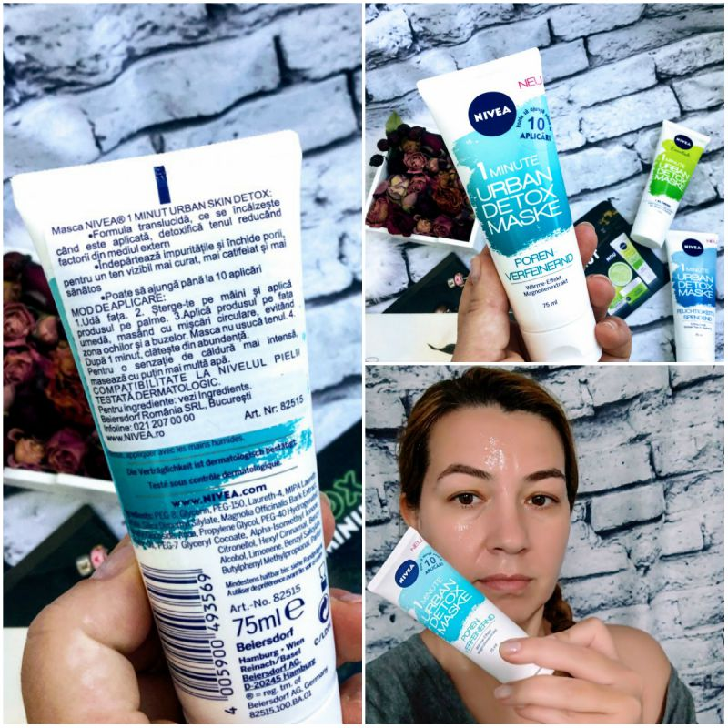 Nivea Urban Skin Detox Mask Pore Refine review