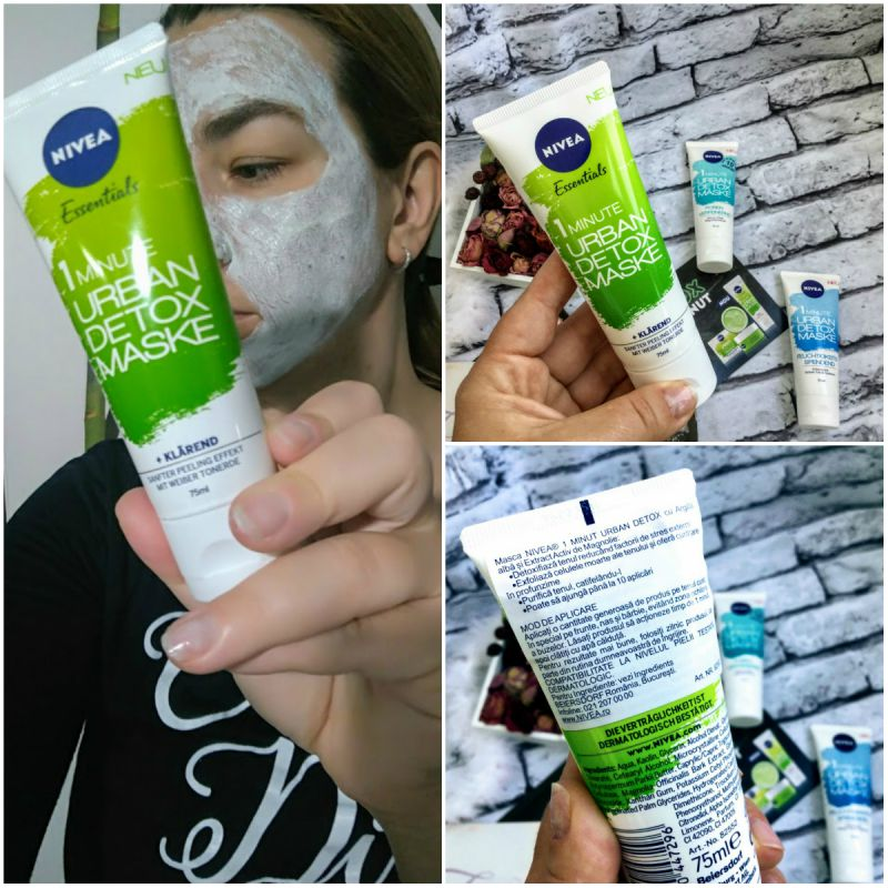 Nivea Urban Skin Detox Mask Purify pareri