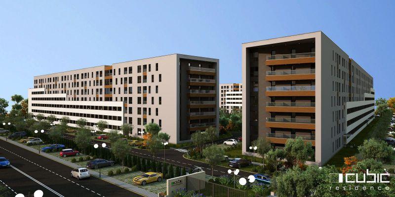apartament cu 2 camere în Bragadiru