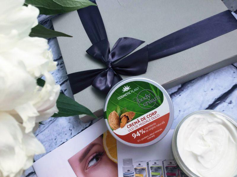crema de corp cu migdale dulci, Gama Body de la Cosmetic Plant