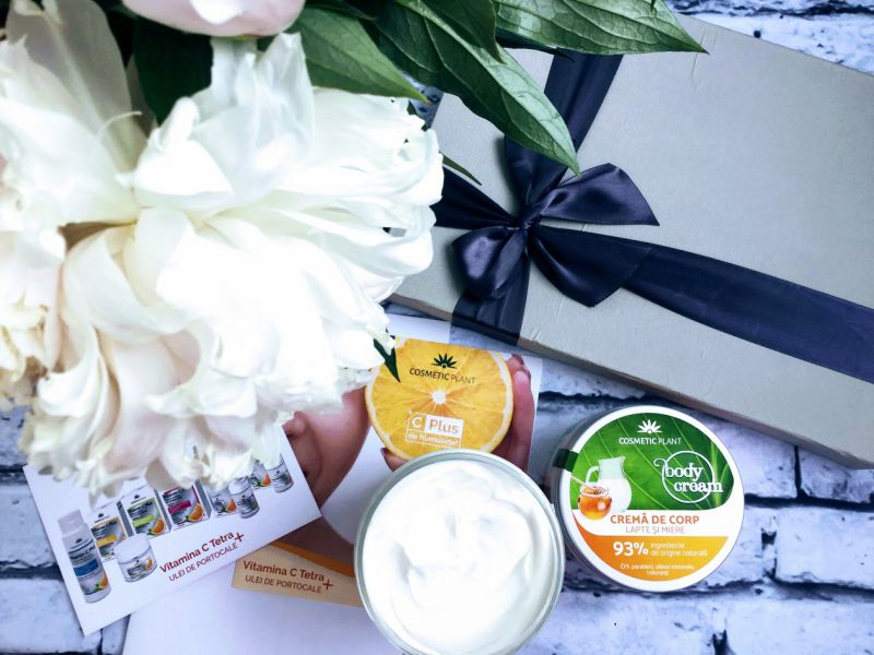 crema lapte si miere, Gama Body de la Cosmetic Plant