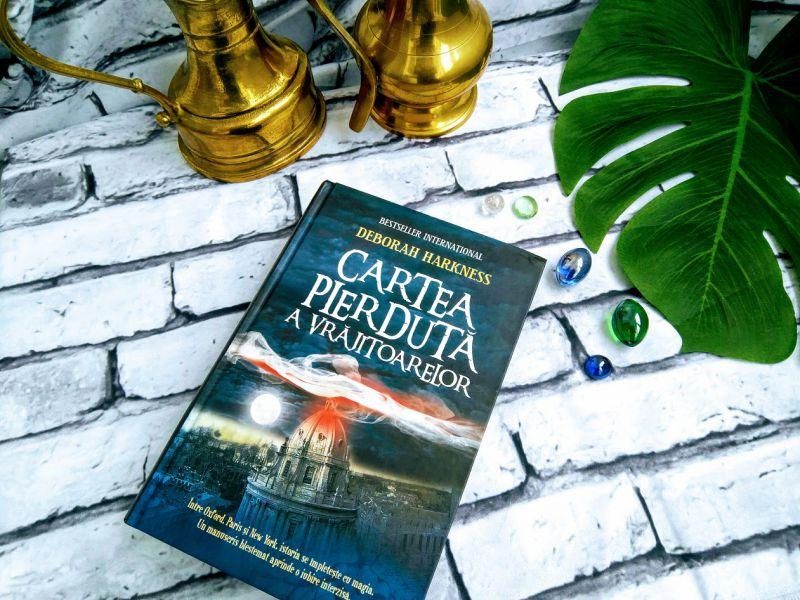 Cartea pierdută a vrăjitoarelor, de Deborah Harkness