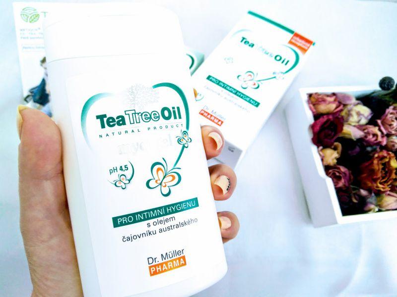 Gel de spălare zonă intimă cu tea tree