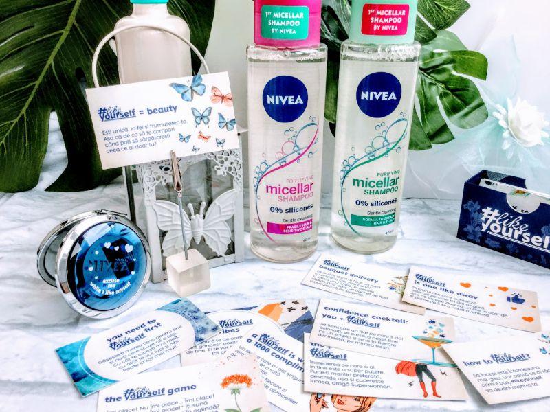 șampoane micelare de la NIVEA