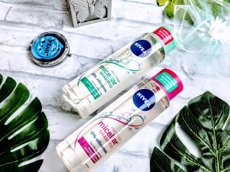șampoane micelare NIVEA