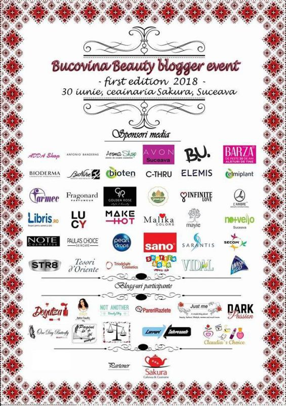 Afis Bucovina Beauty Event