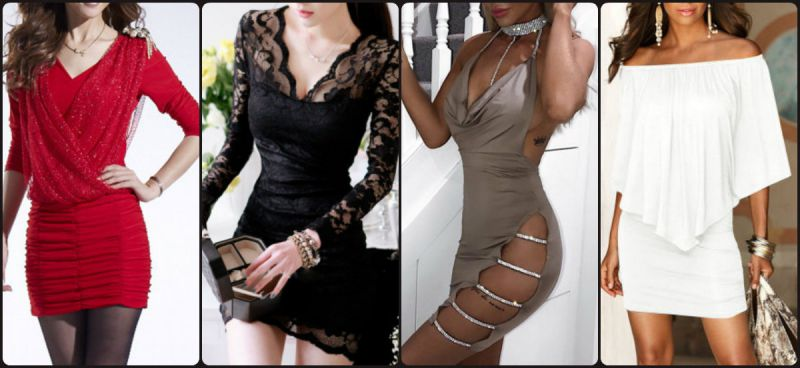 Sexy bodycon dresses from Fashionme