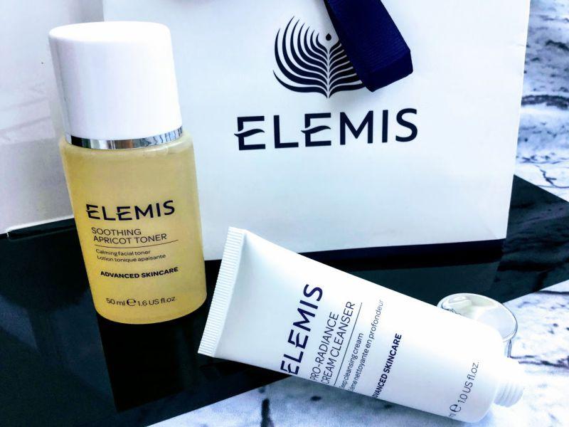 elemis skincare routine