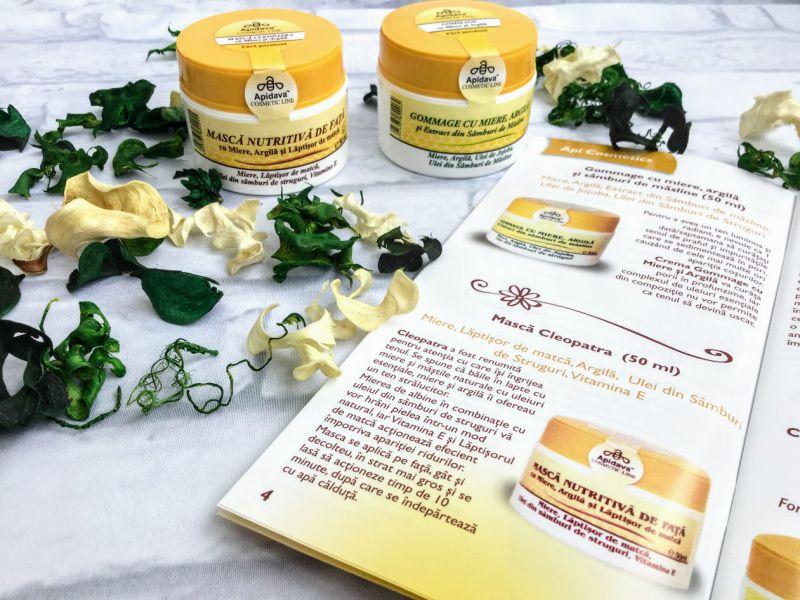 ingrijeste tenul cu produse api cosmetice de la Apidava