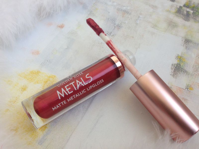 Golden Rose Metals Matte Metallic Lipgloss