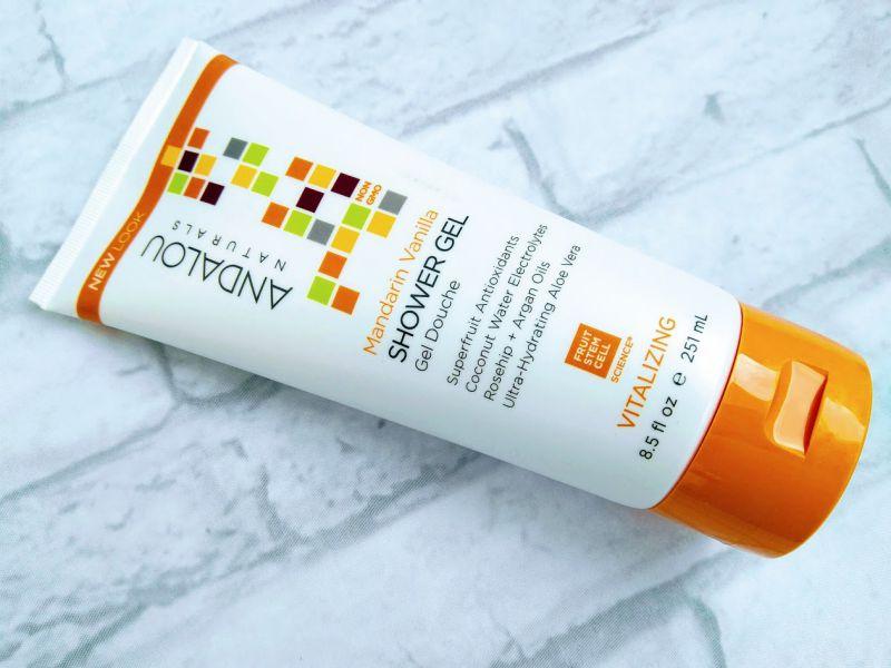 Mandarin Vanilla Vitalizing Shower Gel, Andalou Naturals
