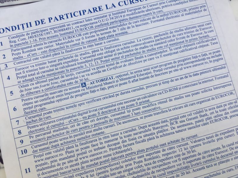 certificat eurocor