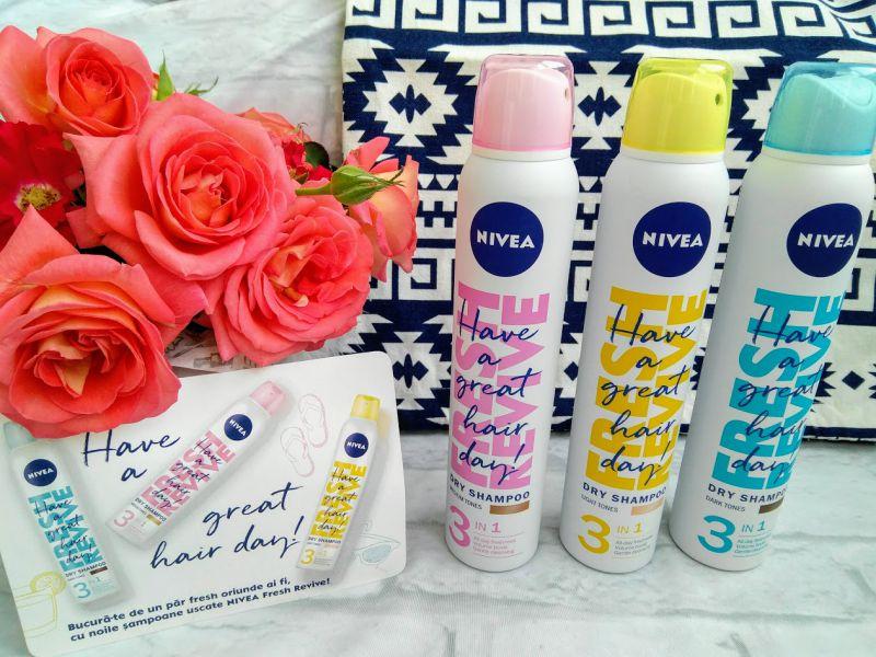 șampoane uscate NIVEA Fresh pareri