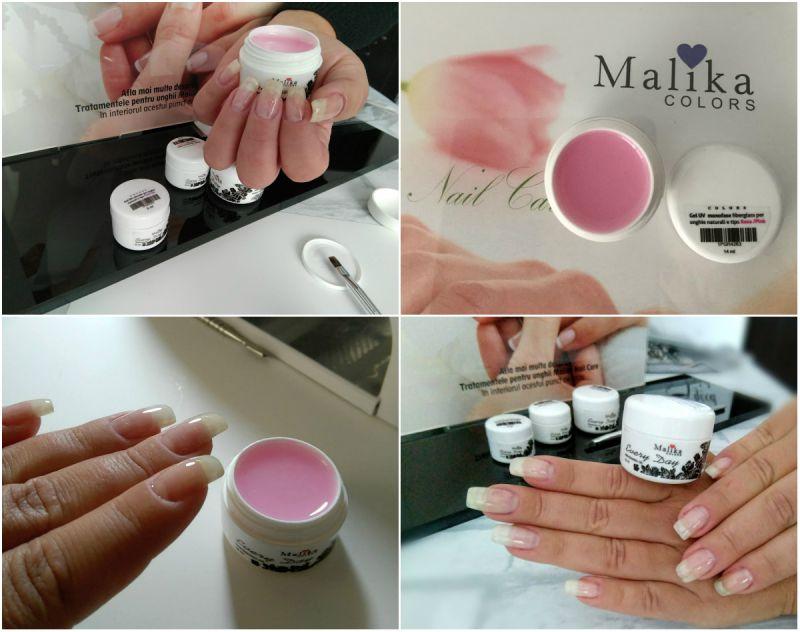 Gel Monofase fiberglass nuanță Pink
