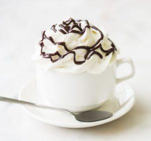 Panna cotta de cafea