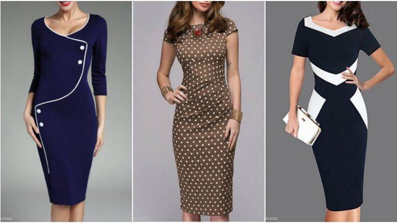 cheap office dress