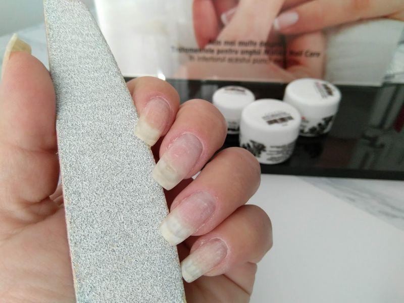 pregatire unghii gel