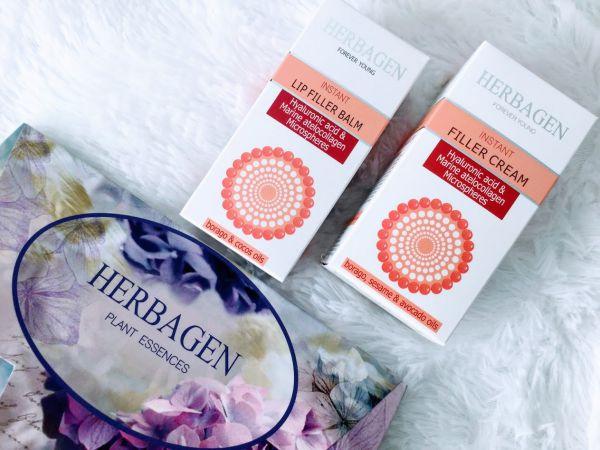 Herbagen filler cu sfere de acid hialuronic și atellocolagen