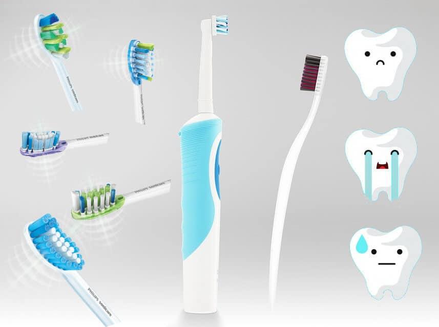 capete Periuțe de dinți electrice
